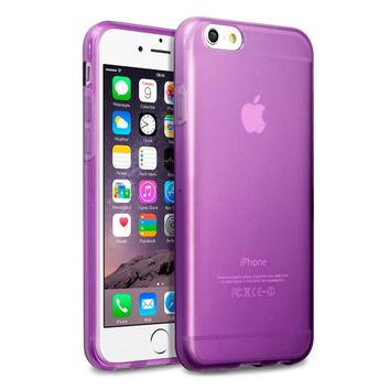 iPhone 6 Case, Terrapin [SLIM FIT] [Purple] Premium Protective TPU Gel Case for iPhone 6 - Purple