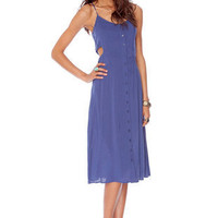 Thalia Button Down Tank Dress ~ TOBI