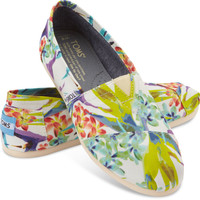 WHITE BIRDS OF PARADISE VEGAN WOMEN'S CLASSICS