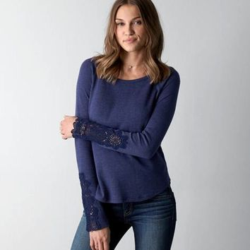 AEO LACE TRIM THERMAL