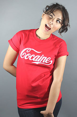 Cocaine II Tee (Red)