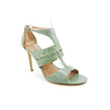Charles David Rapture Womens Patent Leather Dress Sandals Shoes