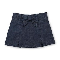 Toughskins Infant & Toddler Girl's Denim Scooter Skirt