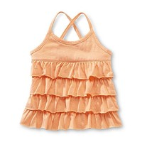 Toughskins Infant & Toddler Girl's Tiered Ruffle Tank Top