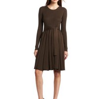 Jessica Simpson Women`s Sweater Dress with Patches