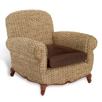 Victoria Falls Woven Club Chair - Furniture - Products - Products - Ralph Lauren Home - RalphLaurenHome.com