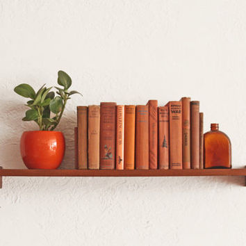 Floating Mid Century Shelf