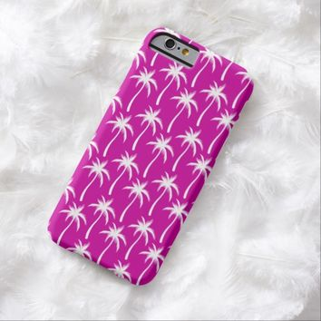 White Palm Trees - iPhone 6 Case