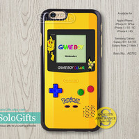 iPhone 6 case, iPhone 6 Plus case, Nintendo Game Boy Color, iPhone case, iPhone 5 case, iPhone 5S Case, Galaxy S5 S4 S3 Note 2 Note 3, A0762