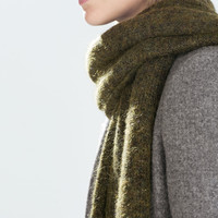 Special knit scarf