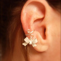Ear Cuff, Dainty And Feminine Silve.. on Luulla