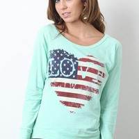 Love For The USA Top