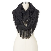 Manhattan Accessories Co. Fringed Infinity Scarf