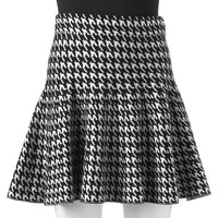 Candie's Houndstooth Sweater Skirt - Juniors