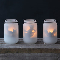 Boil & Trouble Tealight Jar Holders - Set of 3