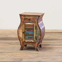 Recycled Teak Distressed Chest
