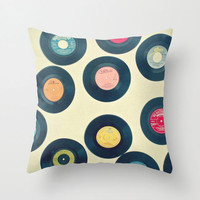 Put the Record On Throw Pillow