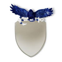 Winged Crest Mirror
