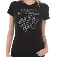 Game Of Thrones The North Remembers Girls T-Shirt