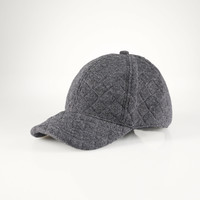 Quilted Knit Baseball Cap