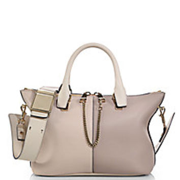 Chloé - Baylee Small Colorblock Satchel - Saks Fifth Avenue Mobile