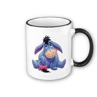 Winnie The Pooh&#x27;s Eeyore Holding Tail Mug from Zazzle.com