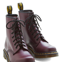 Playing Air Guitar Boot in Plum | Mod Retro Vintage Boots | ModCloth.com