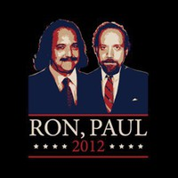 T-Shirt Hell :: Shirts :: RON, PAUL 2012 (RON JEREMY, PAUL GIAMATTI)