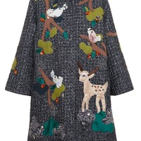 DOLCE & GABBANA | Embroidered Wool Coat | Browns fashion & designer clothes & clothing