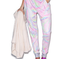 Private Arts Snow Queen Suede Pant Multi