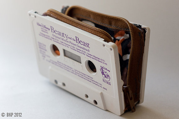 Beauty & The Beast cassette wallet