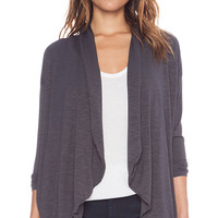 dolan Cocoon Cardigan in Charcoal