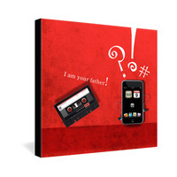 Elo Designs Im Your Father Gallery Wrapped Canvas