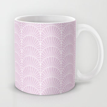 Art Deco Lavender Fields by Friztin Mug by friztin