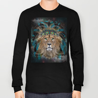 Fight For What You Love (Chief of Dreams: Lion) Tribe Series Long Sleeve T-shirts by soaring anchor designs ⚓ | Society6
