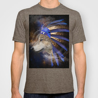 Fight For What You Love (Chief of Dreams: Wolf) Tribe Series T-shirt by soaring anchor designs ⚓ | Society6