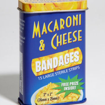 Wacky Macaroni & Cheese Bandages