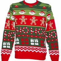 Unisex Retro Santa's Workshop Christmas Jumper From Cheesy Christmas Jumpers : TruffleShuffle.com