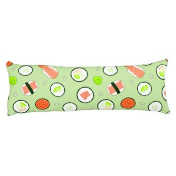 Cute Sushi Pattern Green