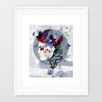 Estrella Framed Art Print by Holly Sharpe | Society6