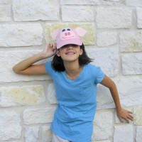 Pig costume pink accessory hat child adult kid Halloween pig costume kids Eco friendly kids toy Teacher gift Child fun funny hat party child