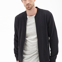 Collarless Athletic Jacket