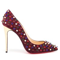 CHRISTIAN LOUBOUTIN | Studded Folliescabo High Heel | Browns fashion & designer clothes & clothing