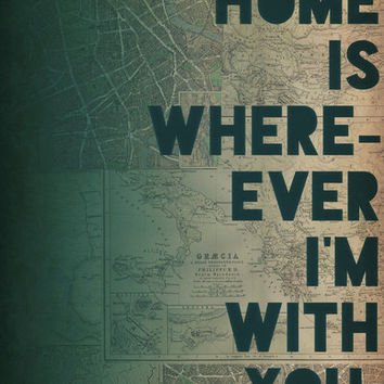 Home Art Print by Leah Flores | Society6