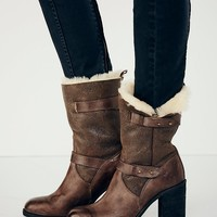 Free People Arbour Shearling Boot