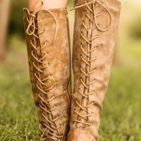 Out West Boots-Chestnut