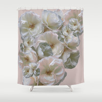 Coming up Roses Shower Curtain by anipani