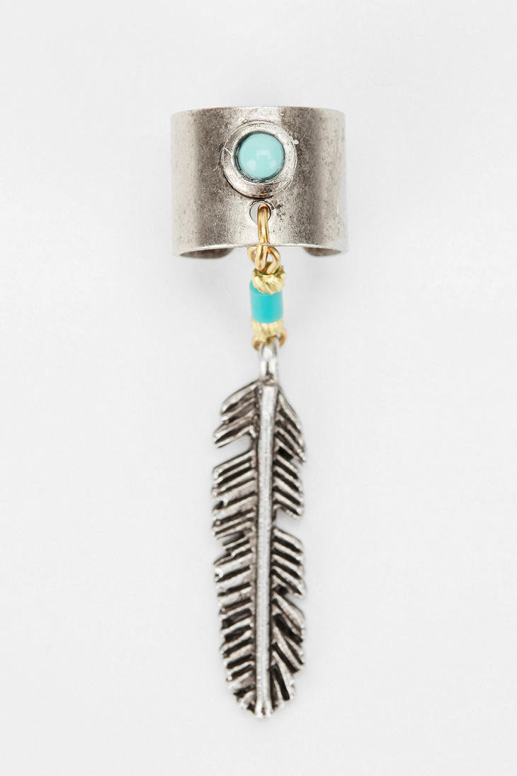 Yuma Feather Ear Cuff