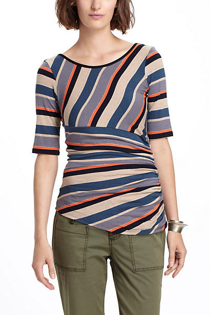 Arced Striations Pullover