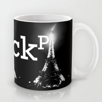 BLACK PARIS Mug by Chrisb Marquez